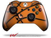 Basketball Decal Style Skin fits Microsoft XBOX One Wireless Controller CONTROLLER NOT INCLUDED