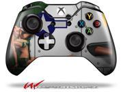 WWII Bomber War Plane Pin Up Girl - Decal Style Skin fits Microsoft XBOX One Wireless Controller - CONTROLLER NOT INCLUDED