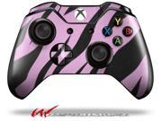 Zebra Skin Pink - Decal Style Skin fits Microsoft XBOX One Wireless Controller - CONTROLLER NOT INCLUDED
