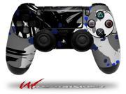 Abstract 02 Blue - Decal Style Wrap Skin fits Sony PS4