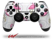 Flamingos on White Decal Style Wrap Skin fits Sony PS4 Dualshock 4 Controller CONTROLLER NOT INCLUDED