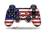Sony PS3 Controller Decal Style Skin - USA American Flag 01 (CONTROLLER SOLD SEPARATELY)
