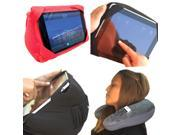 AMC Universal U Shaped Travel Pillow Table Bed Lap Stand Holder for iPad Tablet