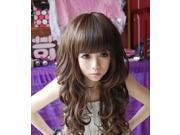 Women's Fashion New Long Full Curly Wavy Hair Wig Vogue+Free Wig Cap