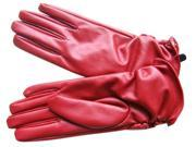 AMC Ladies Long Soft PU Leather Gloves Evening Party
