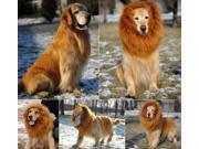 Pet Costume Lion Mane Wig for Dog Halloween Clothes Festival Fancy Dress up