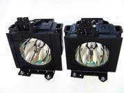 Panasonic PT-DW730ES Projector OEM Compatible Twin-Pack Projector Lamps