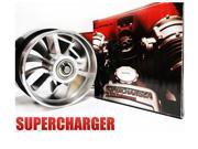 "NEW Supercharger Air Intake Fan Turbo Large 3"" Diameter"