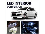 VW Jetta/Golf MK3 Interior LED Kit WHITE Bulbs 1993-1998