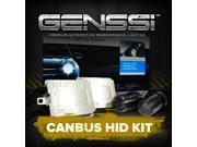GENSSI Premium AC CANBUS HID KIT Xenon Light Conversion (Different bulb sizes in 6000K, 10000K color temperatures available)