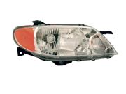 Mazda 2001-2003 Protégé Sedan Headlight Assembly Aluminum Bezel Pair