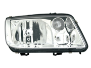 Volkswagon 1999-2002 Jetta Headlight Assembly Without Fog Lamp Driver Side
