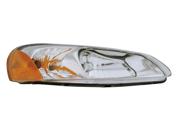 Dodge 2001-2002 Stratus/Sebring Sedan Convertible Headlight Assembly Without Signal Socket Driver Side