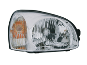 Hyundai 2003-2006 Santa Fe Headlight Assembly Driver Side