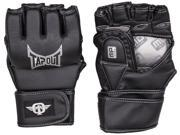 TapouT Elite Striking Training MMA Gloves Open Finger Large - XL UFC grappling