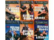 Indonesian Martial Arts Combat Pentjak Silat 6 DVD Set Guru Victor deThouars