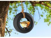 Tire Swing Bird Feeder (9SIAD247WM7602 5132177 Fred & Friends) photo