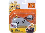 Despicable Me Gru's Vehicle with Minion Toy Figure 9SIA0Y969W2582