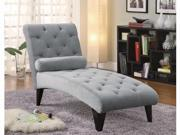 Contemporary Chaise by Coaster
