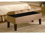 Lines Tan Bench by Coaster Furniture