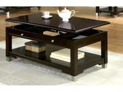 Augusta Coffee Table in Walnut Finish by Coaster Furniture