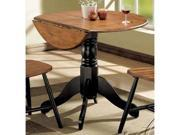 Mason 3 Piece Pack Dining Table in Two Tone Finish by Acme