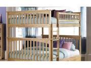 Columbia Bunk Full Full Natural Maple by Atlantic Furniture