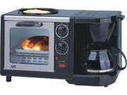 Sunpentown BM-1107 Stainless Steel 3-in-1 Breakfast Maker 9SIA00Y0BB2835