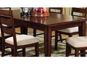 Priscilla Dining Room Table in Antique Oak Finish by Furniture of America