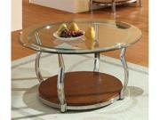 Wells Round Cocktail Table By Homelegance Furniture By Homelegance