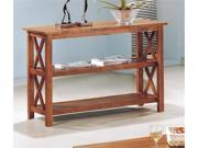 Sofa Table in Light Brown Oak by Coaster Furniture