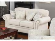 Coaster 502512 Norah Traditional Loveseat with Antique Inspired Detail