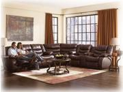 Reclining Sectional by Ashley Furniture