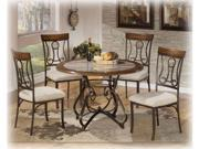 Round Dining Room Table Top in Brown - Signature Design by Ashley Furniture