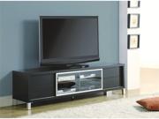 """Cappuccino Hollow-Core 70""""L Euro Tv Console"""