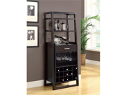 """Cappuccino 60""""H Ladder Style Bar Unit by Monarch"""