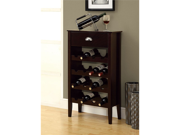 Cappuccino Wine Rack For 16 Bottles by Monarch