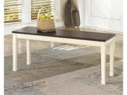 Signature Design Large Dining Room Bench by Ashley Furniture