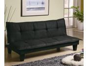 Casual Padded Convertible Sofa Bed by Coaster