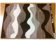 Medium Rug in Brown and White - Signature Design by Ashley Furniture