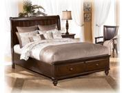 Queen Master Bedroom Set in DarkBrown  Finish