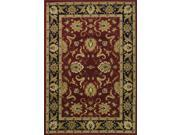 Wembley WB 524 Red Finish 8'X10' by Dalyn Rugs