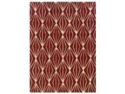 Powell Bombay Entwine Rust 2'x3' Rug - 200-R0046-2