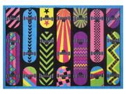 """Gnarly Boards 19"""""""" x 29"""""""" Rug"""" 9SIA2HK2WS4402"""