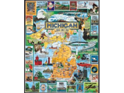 (NEW) White Mountain Puzzles Best of Michigan