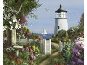 To the Lighthouse Puzzle by White Mountain Puzzles