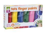 Alex? Toys - Alex Jr. Tots First Finger Paint (6) Set -  Art Supplies 1807