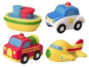 (NEW) ALEX? Toys - Bathtime Fun Bath Squirters (4) -Transportation 700TN 9SIV1976SP1373