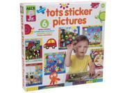Alex? Toys - Alex Jr. Tots Sticker Pictures  -  Art Supplies 1858