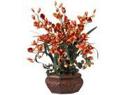Large Cymbidium Silk Flower Arrangement 9SIA3914G55247